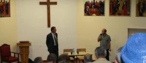 Profesor Jan Żaryn odwiedził Legionowo