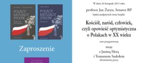 Senator Żaryn zaprasza na XXIV Targi Książki Historycznej