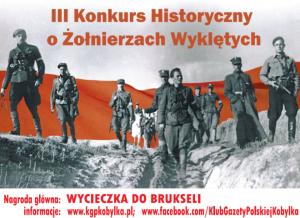Konkurs historyczny o Żołnierzach Wyklętych 2016