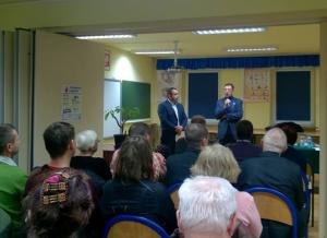 Senator Jan Żaryn odwiedził Serock