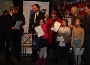 Wręczenie nagród i dyplomów laureatom III Konkursu Historycznego o Żołnierzach Wyklętych