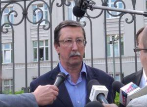 Prof. Jan Żaryn pod Ministerstwem Sprawiedliwości o sprawie niesłusznie skazanego A. Galanciaka