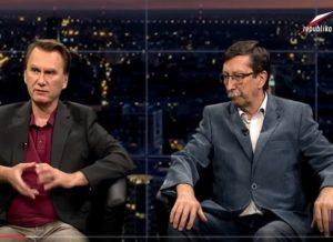 """Telewizja Republika – Jan Żaryn i Robert Czyżewski – """"W Punkt"""""""