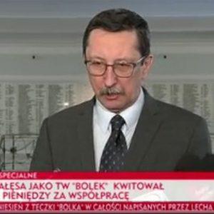 """IPN: nie ma wątpliwości, że teczka TW """"Bolka"""" dotyczy Lecha Wałęsy"""
