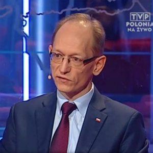 Robert Szydlik w TVP Polonia o fladze i Krzyżu Zachodnim