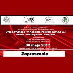 Konferencja nt. 600-lecia ustanowienia urzędu Prymasa RP