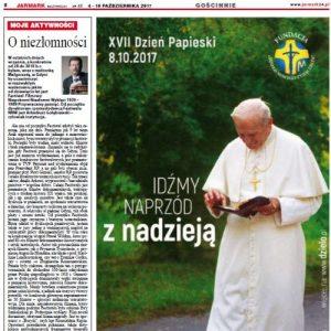 """""""O niezłomności"""" – Jarmark Mazowiecki nr 40"""