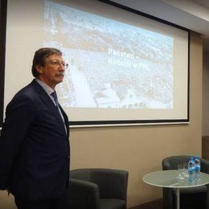 Jan Żaryn w Kielcach o relacjach państwo – Kościół: zawsze był dla komunistów wrogiem