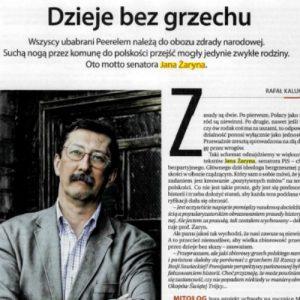 Prof. Jan Żaryn – Dzieje bez grzechu