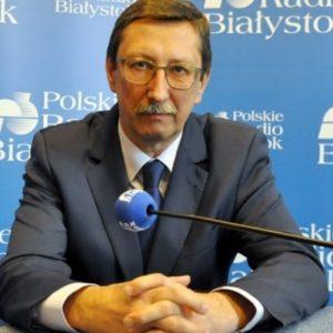 Wywiad z senatorem Janem Żarynem w Radiu Białystok