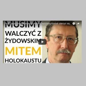 Prof. Żaryn: Deklaracja premierów Polski i Izraela jest naszym zwycięstwem w walce o narrację historyczną