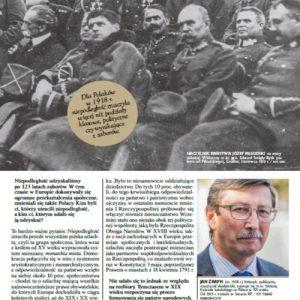 Prof. Jan Żaryn w Kurierze Wileńskim o Niepodległości
