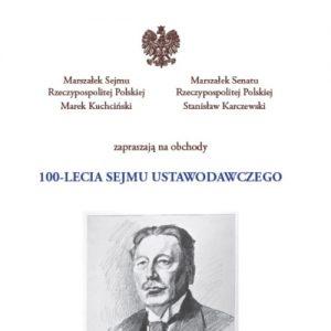 100-lecie Sejmu Ustawodawczego