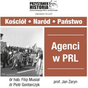 Agenci w PRL – spotkanie na Przystanek Historia
