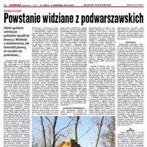 """""""Powstanie widziane z podwarszawskich Szelig"""" – Jarmark24.pl"""