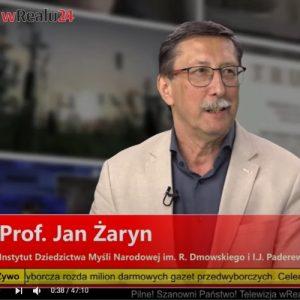 Duda vs. Trzaskowski! Na kogo powinni głosować patrioci? Prof. Jan Żaryn wRealu24!