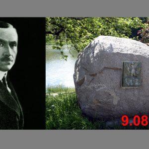 Zaproszenie na uroczystości z okazji 156 rocznicy urodzin Romana Dmowskiego