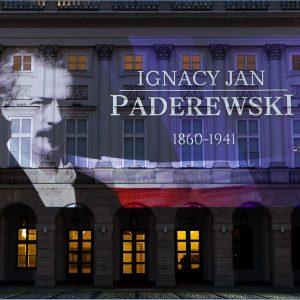 Iluminacja Pałacu Prezydenckiego – 160. rocznica urodzin I. J. Paderewskiego