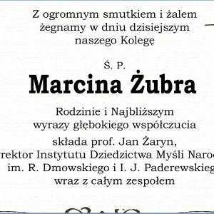 Pogrzeb ś.p. Marcina Żubra