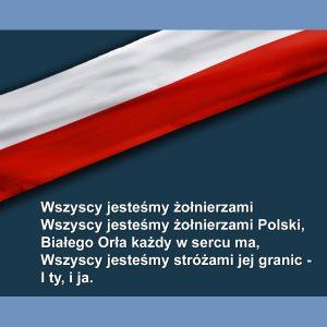 Wiersz z okazji Święta Niepodległości Marii Czerkawskiej