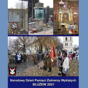 Obchody Narodowego Dnia Żołnierzy Wyklętych na Służewiu, 28 lutego 2021 r.