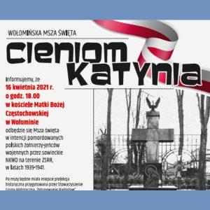 Msza Święta w intencji pomordowanych polskich żołnierzy – jeńców wojennych przez sowieckie NKWD na terenie ZSRR w latach 1939 – 1941