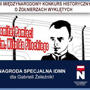 Nagroda IDMN dla Gabrieli Żeleźnik